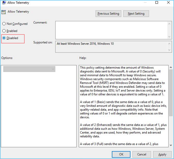 GUIDE TO DISABLE THE MICROSOFT COMPATIBILITY TELEMETRY
