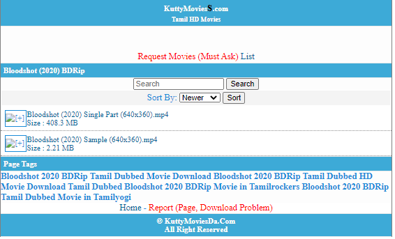 KUTTY MOVIES DOWNLOAD