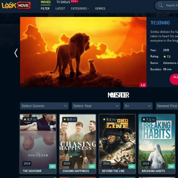 HOW TO DOWNLOAD A MOVIE FROM LOOKMOVIE